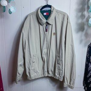 Tommy Hilfiger men's khaki jacket
